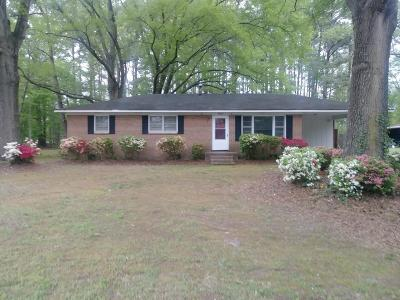 Edgecombe County Single Family Home For Sale: 3603 Ainsley Circle