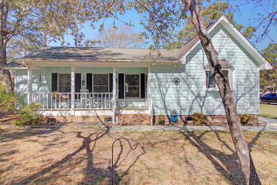 Oak Island Single Family Home For Sale: 227 NE 54th Street