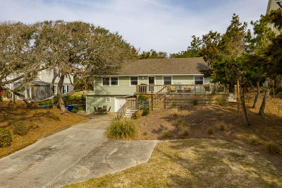 Emerald Isle Single Family Home For Sale: 7904 Ocean Drive