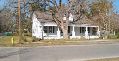 Whiteville NC Single Family Home For Sale: $63,000