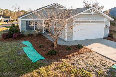Southport Single Family Home For Sale: 4402 Southern Pine Drive SE