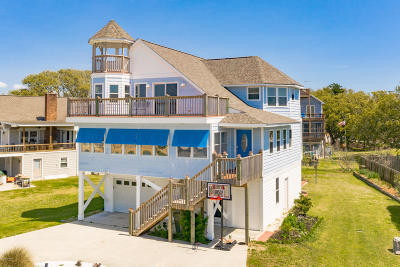 Emerald Isle Single Family Home For Sale: 414 Channel Drive