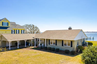 Morehead City Single Family Home For Sale: 4323 Coral Point Drive