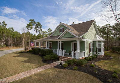 Ocean Isle Beach Single Family Home For Sale: 6851 Beckman Circle SW
