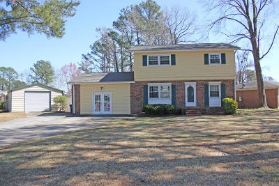Onslow County Single Family Home For Sale: 404 Oakwood Avenue