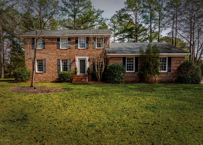 New Bern Single Family Home For Sale: 801 Arcane Circle