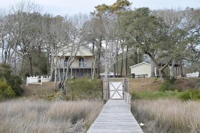 Holden Beach Single Family Home For Sale: 2533 Gator Lane SW