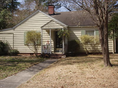 Greenville NC Single Family Home For Sale: $139,900