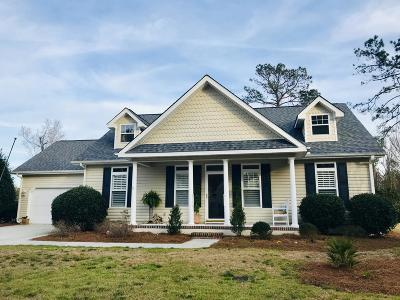 Morehead City Single Family Home Active Contingent: 217 Carefree Lane