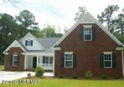 New Bern Single Family Home For Sale: 101 McBride Place