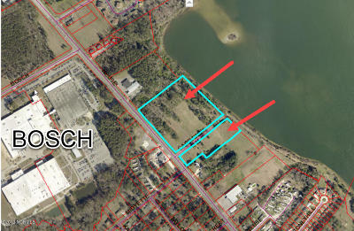 New Bern Residential Lots & Land For Sale: 3530 Neuse Boulevard