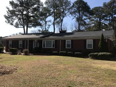 Greenville Single Family Home For Sale: 4625 Stantonsburg Road