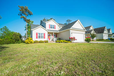 Morehead City Single Family Home For Sale: 1514 Audubon Lane