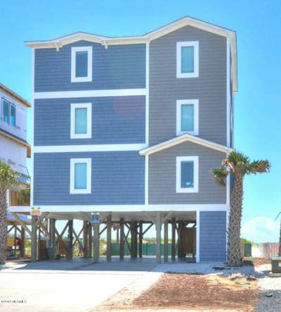 Oak Island Single Family Home For Sale: 807 Ocean Drive