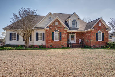 Rocky Mount Single Family Home For Sale: 1411 Fountain Branch Road