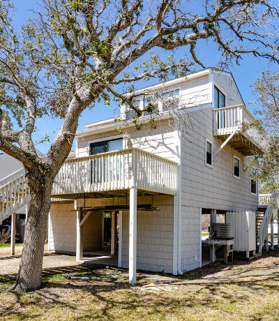 North Topsail Beach, Surf City, Topsail Beach Condo/Townhouse For Sale: 301 Bay Circle