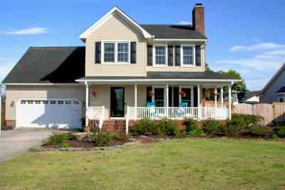 Wilmington NC Single Family Home For Sale: $319,000