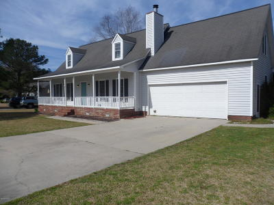 Greenville NC Single Family Home For Sale: $194,000