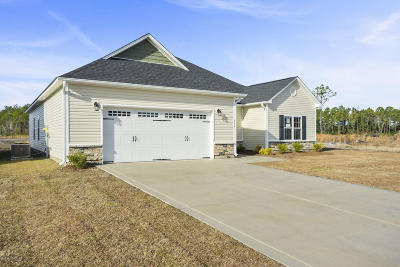 Sneads Ferry Single Family Home For Sale: 144 Oyster Landing Drive