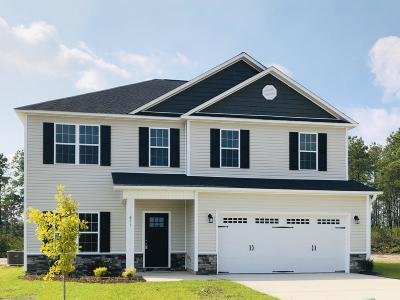 Onslow County Single Family Home For Sale: 877 Stormy Gale Lane