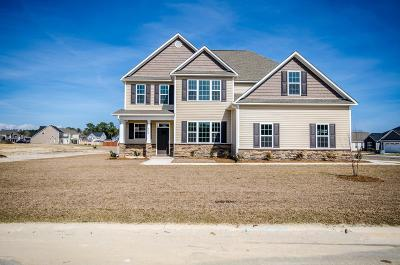 Sneads Ferry Single Family Home For Sale: 146 Oyster Landing Drive