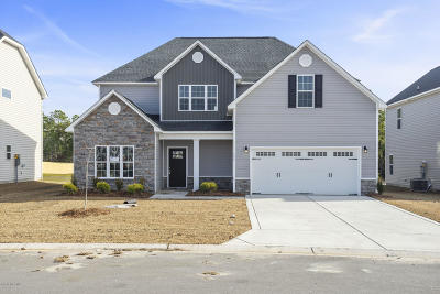 Onslow County Single Family Home For Sale: 151 Oyster Landing Drive