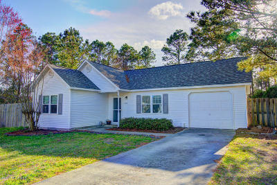 Wilmington NC Single Family Home For Sale: $172,900