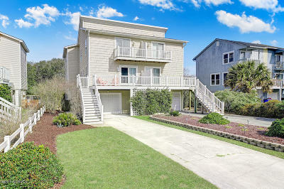 North Topsail Beach, Surf City, Topsail Beach Single Family Home For Sale: 1981 New River Inlet Road
