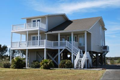 Holden Beach Single Family Home For Sale: 1220 Ocean Boulevard W