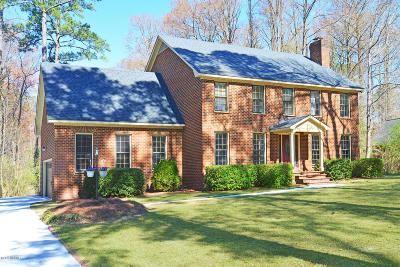 Greenville Single Family Home For Sale: 206 Oxford Road