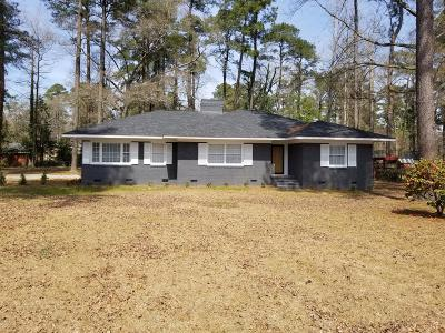 Kinston Single Family Home For Sale: 2206 Riley Road