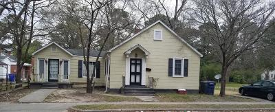 Kinston Single Family Home For Sale: 1507 Rosedale Avenue