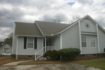 Nash County Condo/Townhouse For Sale: 924 S Hornbeam Drive