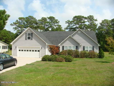 Cape Carteret Single Family Home For Sale: 144 Steep Hill Drive