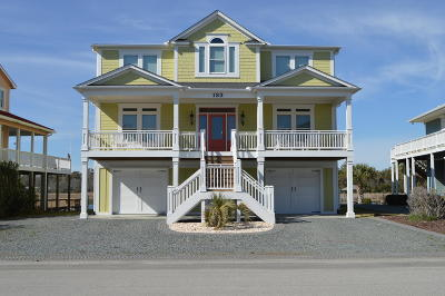 Holden Beach Single Family Home For Sale: 133 Southshore Drive
