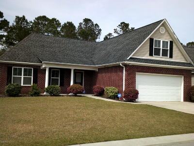 Leland Single Family Home For Sale: 1009 Stonesthrow Court