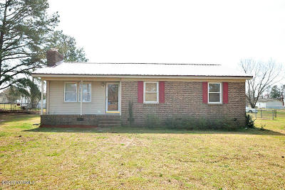Rocky Mount Single Family Home For Sale: 2821 Meadowbrook Road