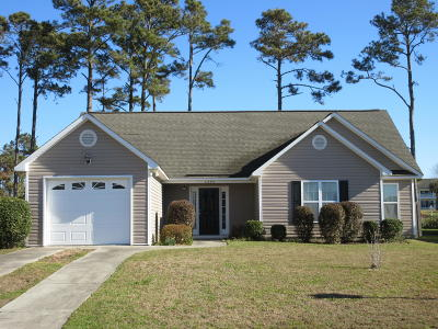 Southport Single Family Home For Sale: 4895 Beech Tree Drive SE