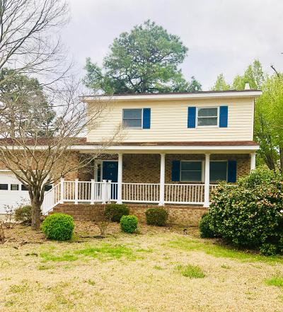 New Bern Single Family Home For Sale: 6202 Pelican Drive