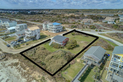 Holden Beach Island NC Single Family Home For Sale: $1,350,000