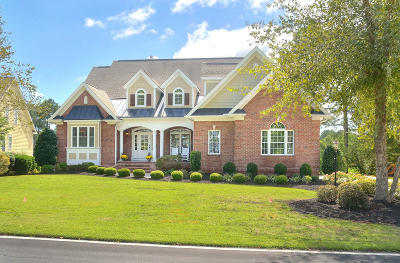 Southport Single Family Home For Sale: 3659 Players Club Drive SE