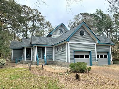 Pine Knoll Shores Single Family Home For Sale: 170 Arborvitae Drive
