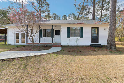 Onslow County Single Family Home For Sale: 2107 Ramsey Loop Road