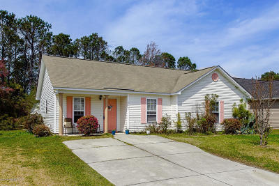 Southport Single Family Home For Sale: 4867 Beech Tree Drive SE