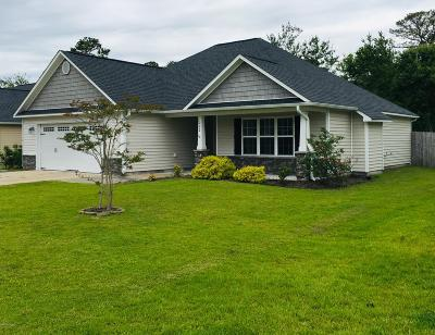 Sneads Ferry Single Family Home For Sale: 222 Marsh Haven Drive