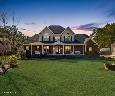 New Bern Single Family Home For Sale: 112 Partridge Drive