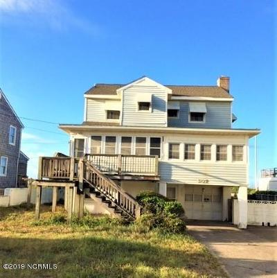 Atlantic Beach Single Family Home For Sale: 607 Ocean Ridge Drive