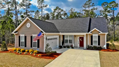 Shallotte Single Family Home Active Contingent: 563 Stone Haven Court