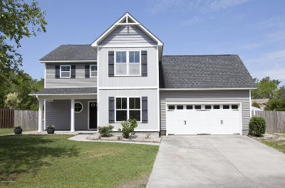 New Hanover County Single Family Home For Sale: 7933 Country Lakes Road