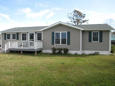 Harkers Island Single Family Home For Sale: 290 Bayview Drive